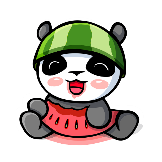The CHiCHi Panda Sticker Pack by Cute Panda Town messages sticker-3