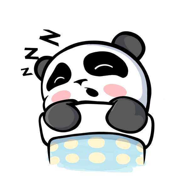 The CHiCHi Panda Sticker Pack by Cute Panda Town messages sticker-7