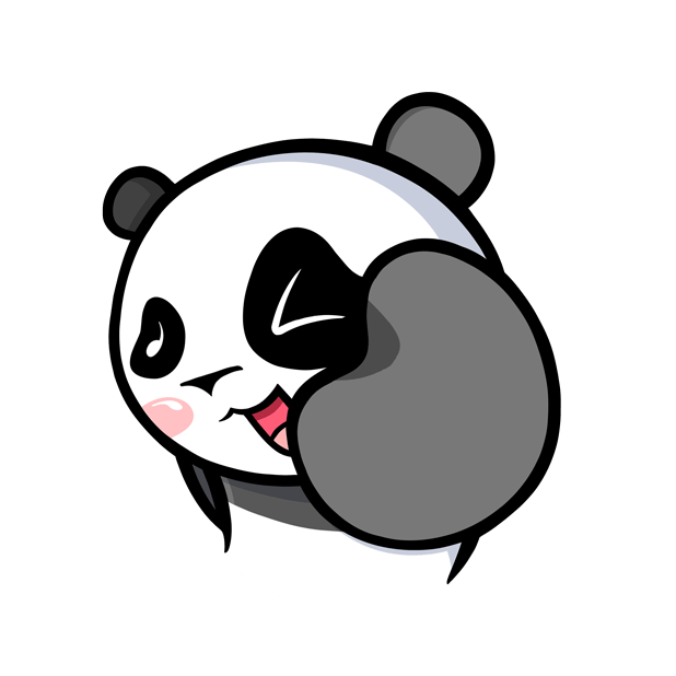 The CHiCHi Panda Sticker Pack by Cute Panda Town messages sticker-5