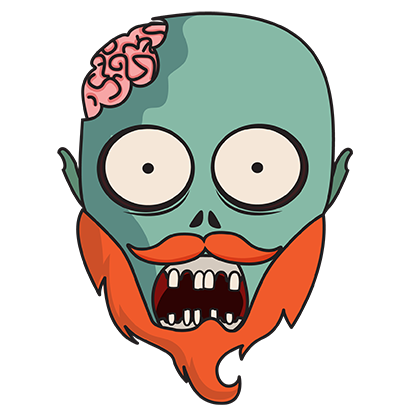 zombiemoji messages sticker-0
