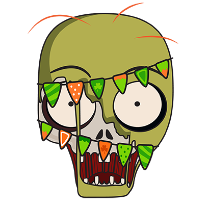 zombiemoji messages sticker-10