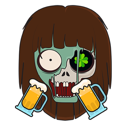 zombiemoji messages sticker-8