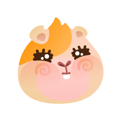 Cavia Oho Stickers messages sticker-0