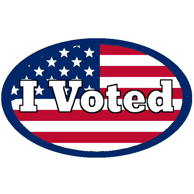 Look Mom, I Voted: Election Day Stickers messages sticker-2