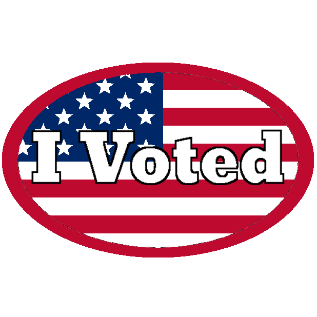 Look Mom, I Voted: Election Day Stickers messages sticker-1