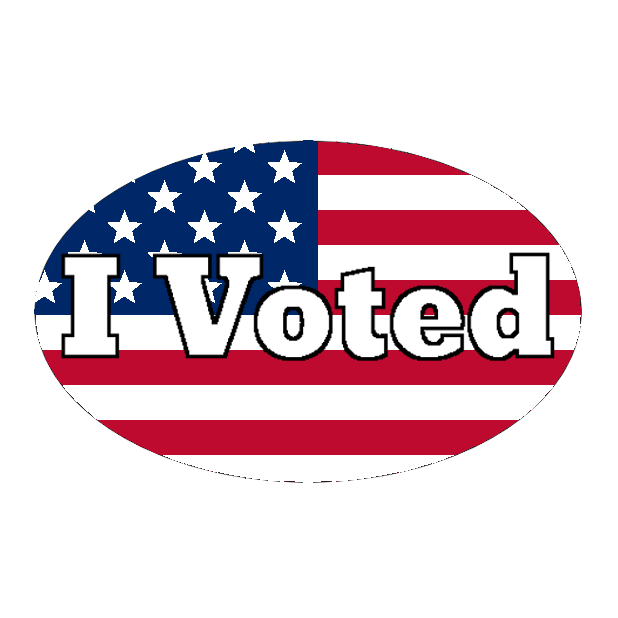 Look Mom, I Voted: Election Day Stickers messages sticker-0