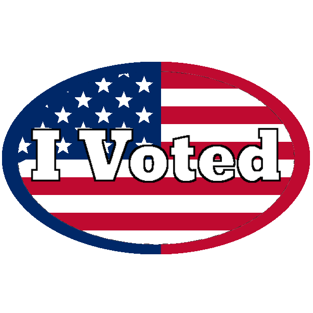 Look Mom, I Voted: Election Day Stickers messages sticker-3