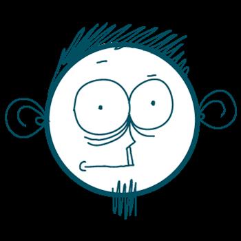 Doodle Sad Cartoon Boy Stickers messages sticker-7