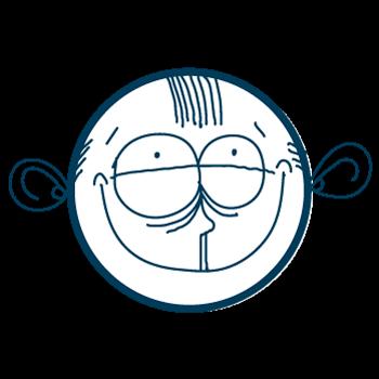 Doodle Sad Cartoon Boy Stickers messages sticker-6