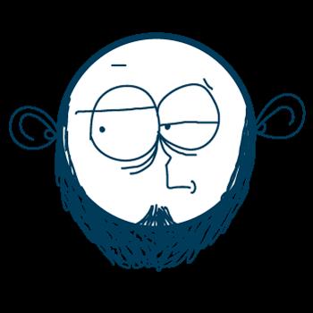 Doodle Sad Cartoon Boy Stickers messages sticker-1