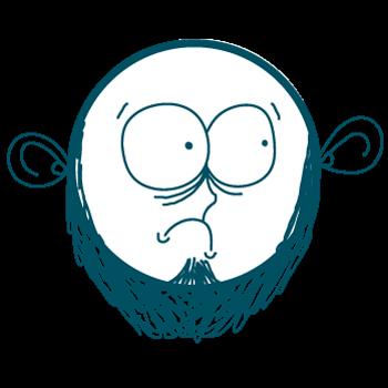 Doodle Sad Cartoon Boy Stickers messages sticker-3