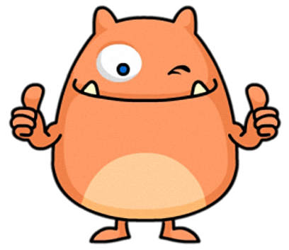 Chubby Monster - Cute stickers for iMessage messages sticker-2
