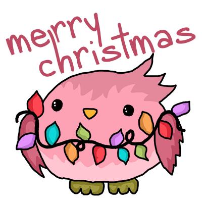 Cute Christmas Holiday Stickers messages sticker-6