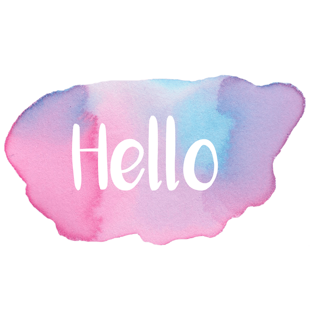 Hello - Watercolor Messages Stickers by Maraquela messages sticker-0