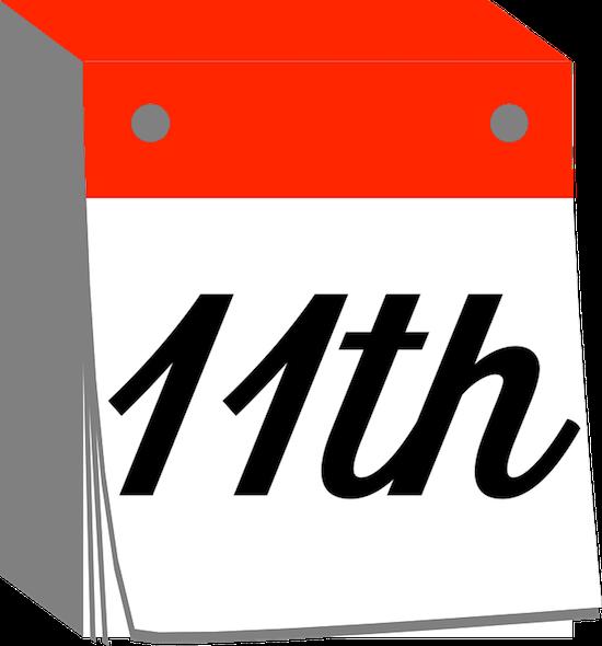 DayCals: Ordinal Perpetual Calendar Stickers messages sticker-10