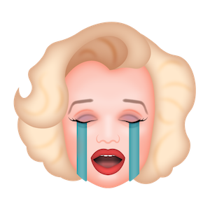 Marilyn Monroeji messages sticker-7
