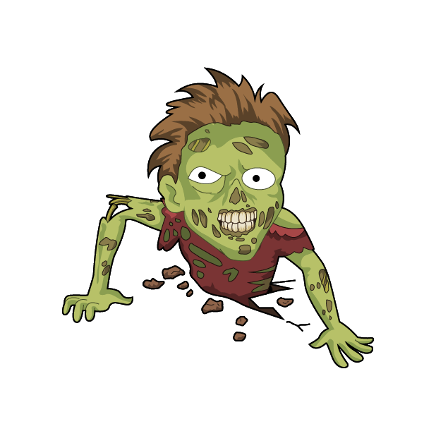Zombie Stickers for iMessage messages sticker-11