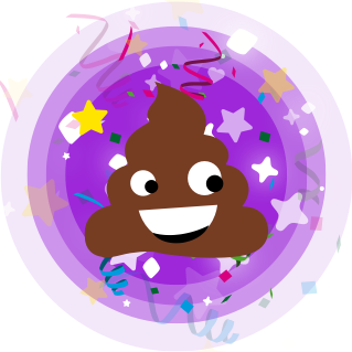 Cinderly Sparkle Poo messages sticker-11