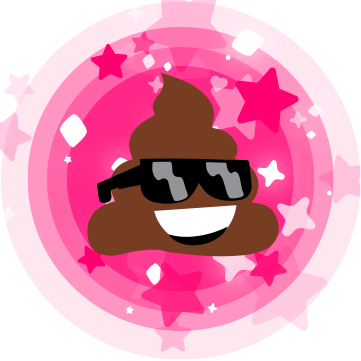 Cinderly Sparkle Poo messages sticker-9