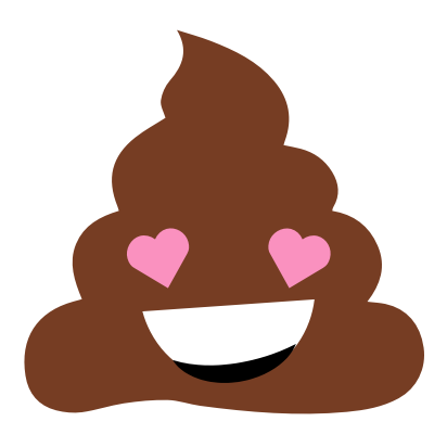 Cinderly Sparkle Poo messages sticker-1