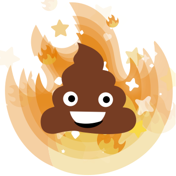 Cinderly Sparkle Poo messages sticker-10