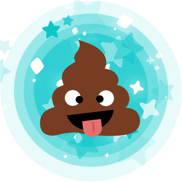Cinderly Sparkle Poo messages sticker-3