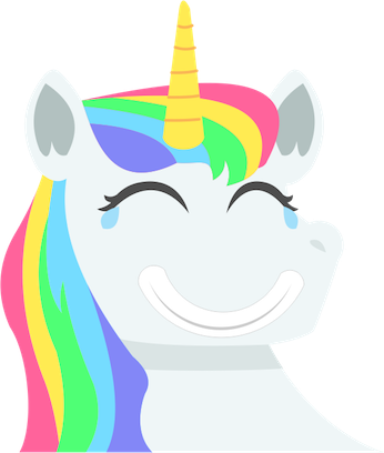 Unicorn Stickers Pack messages sticker-5