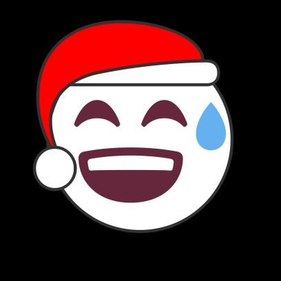 Christmas Emoji • Stickers messages sticker-5