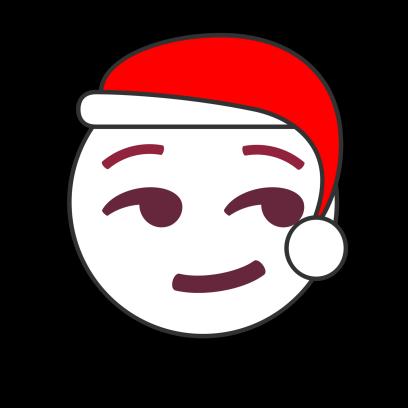 Christmas Emoji • Stickers messages sticker-7