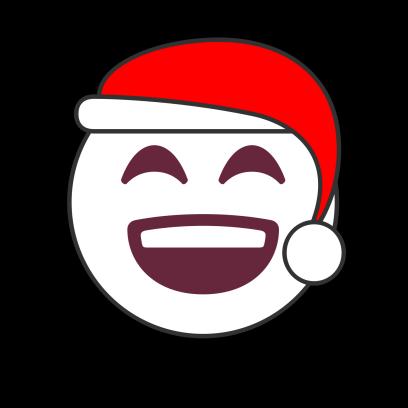 Christmas Emoji • Stickers messages sticker-0