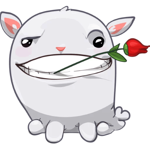 BunnyBun the iMessage sticker pack messages sticker-9