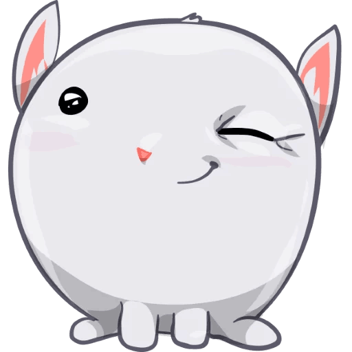 BunnyBun the iMessage sticker pack messages sticker-8