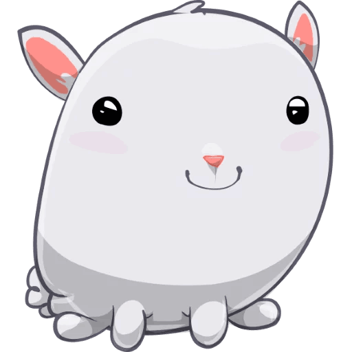 BunnyBun the iMessage sticker pack messages sticker-10