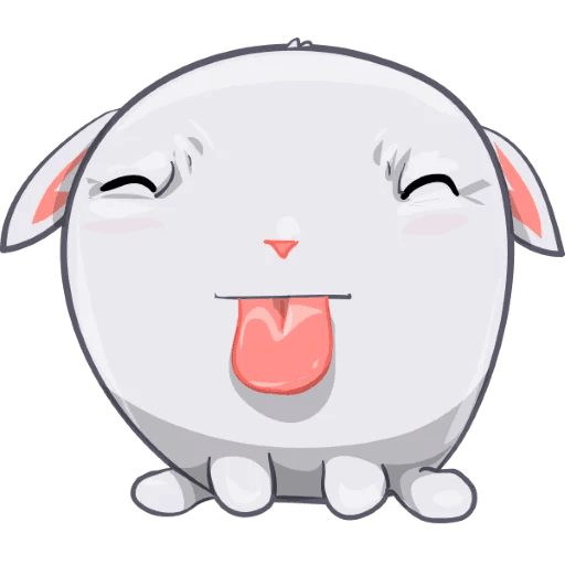 BunnyBun the iMessage sticker pack messages sticker-5