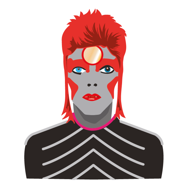 David Bowie Sticker Pack messages sticker-7