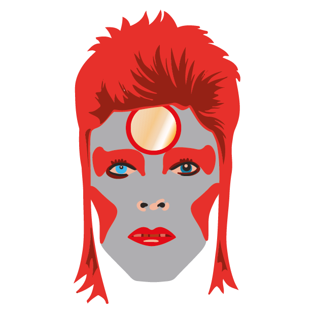 David Bowie Sticker Pack messages sticker-6