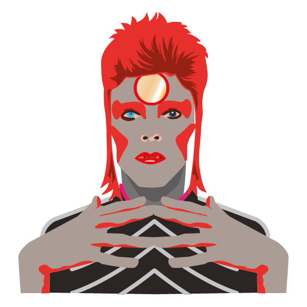David Bowie Sticker Pack messages sticker-8