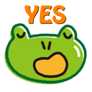Cute Frog Stickers for iMessage messages sticker-0