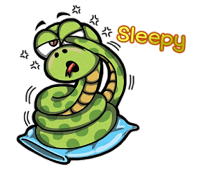 Funny Snake - Cute stickers for iMessage messages sticker-2