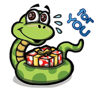 Funny Snake - Cute stickers for iMessage messages sticker-6