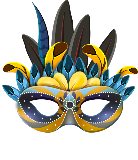 Carnival Mask - Stickers for iMessage messages sticker-6