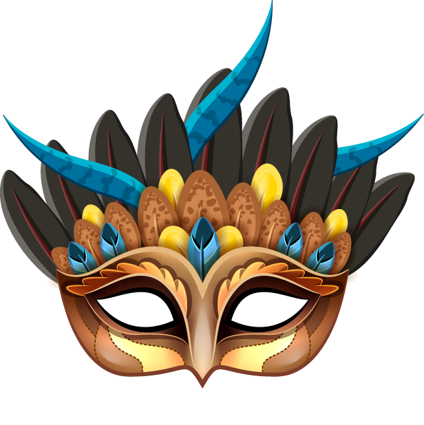 Carnival Mask - Stickers for iMessage messages sticker-10