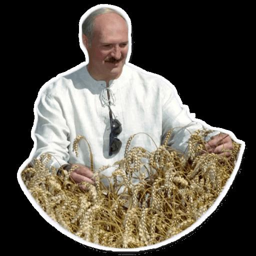 Alexander Lukashenko messages sticker-9