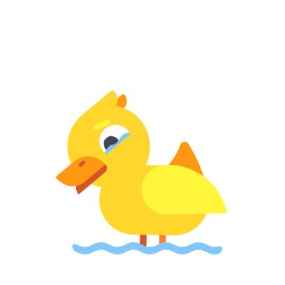 Duck Buddy - Animated Duck Stickers messages sticker-3