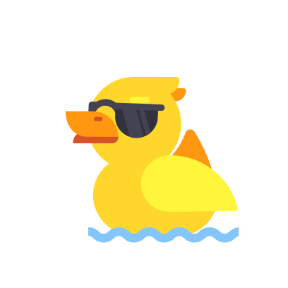 Duck Buddy - Animated Duck Stickers messages sticker-4