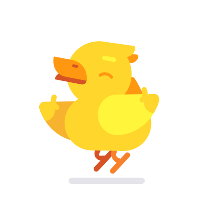 Duck Buddy - Animated Duck Stickers messages sticker-0