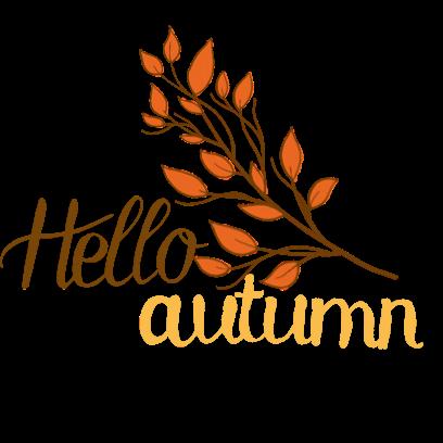 Happy Autumn Hand Drawn Stickers messages sticker-9