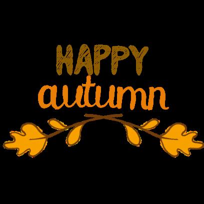 Happy Autumn Hand Drawn Stickers messages sticker-4