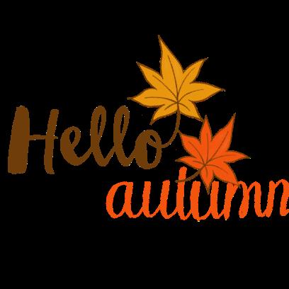 Happy Autumn Hand Drawn Stickers messages sticker-0