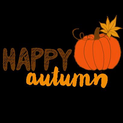 Happy Autumn Hand Drawn Stickers messages sticker-1